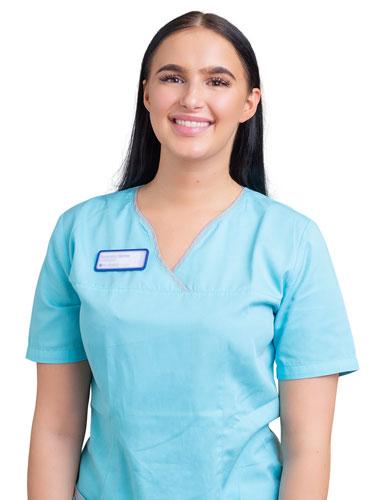 Dentalhygienikerin Esmeralda