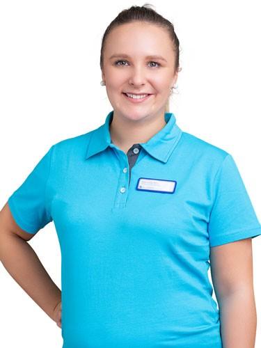Empfang und Service Mitarbeiterin Katharina