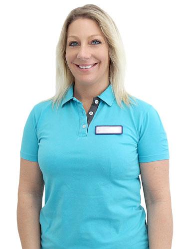 Empfang und Service Mitarbeiterin Anke